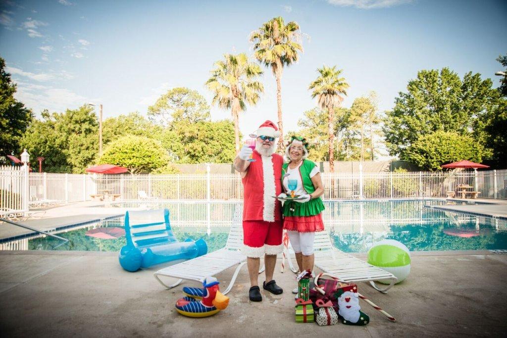 Photographing Santa
